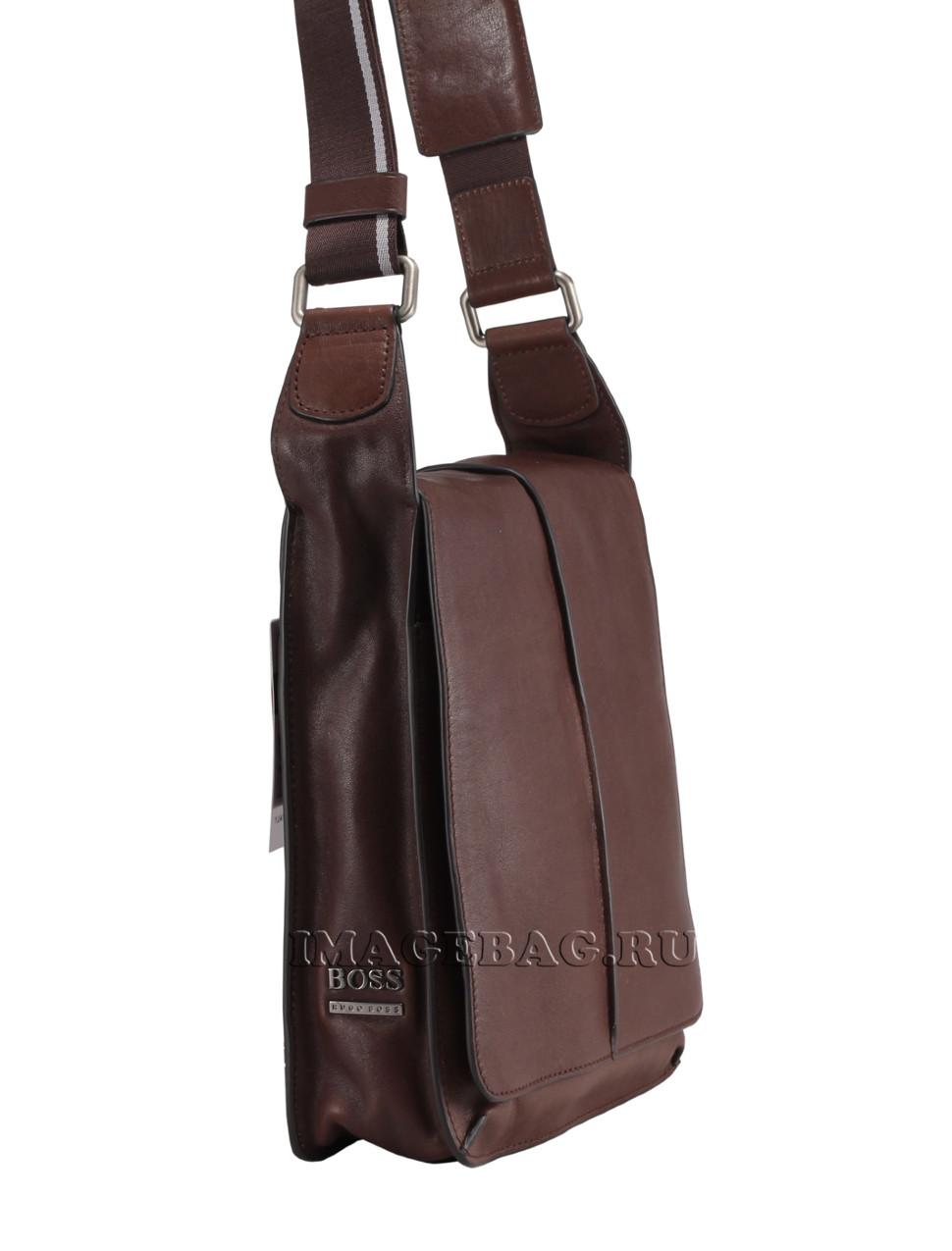 7c4c19a8787a Мужская коричневая сумка Hugo Boss 6055-9-47-1 купить в ...